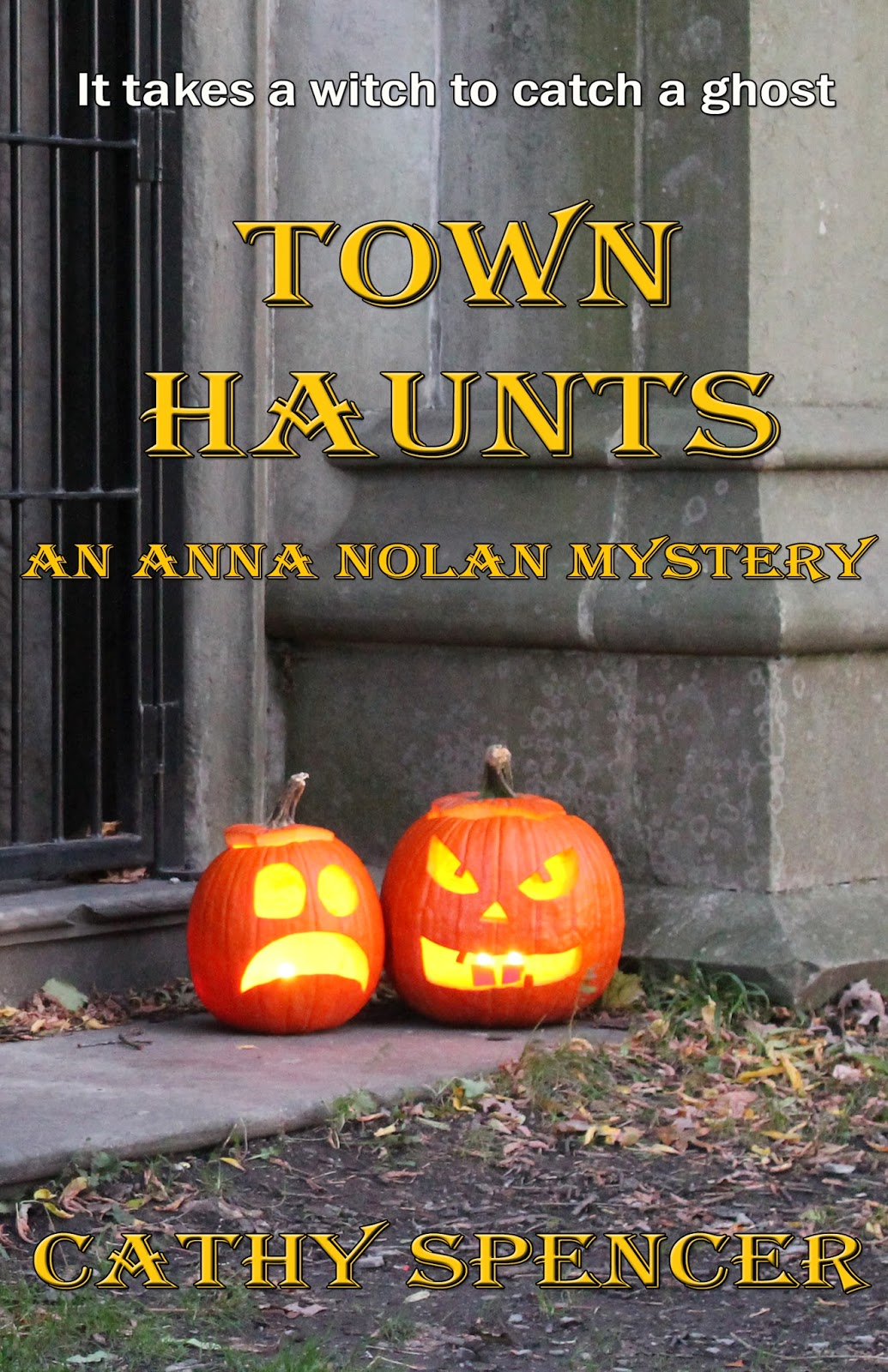 Book Review: Town Haunts by Cathy Spencer