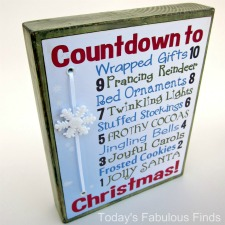Two Printable 10 Day Countdowns