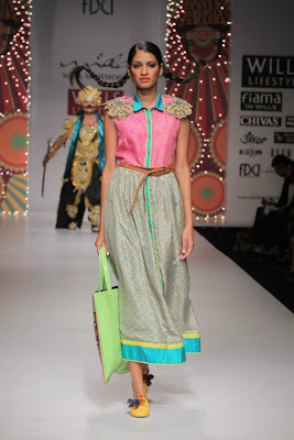Nida Mahmood at Wills Lifestyle India Fashion Week - Spring Summer 2012 Day 3