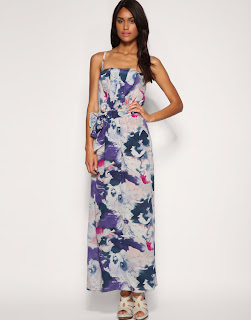 Floral Maxi Dress on Dresses    I Like   Oasis Blurred Floral Print Maxi Dress