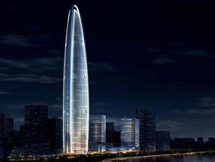 Wuhan Greenland Center in Wuhan, China