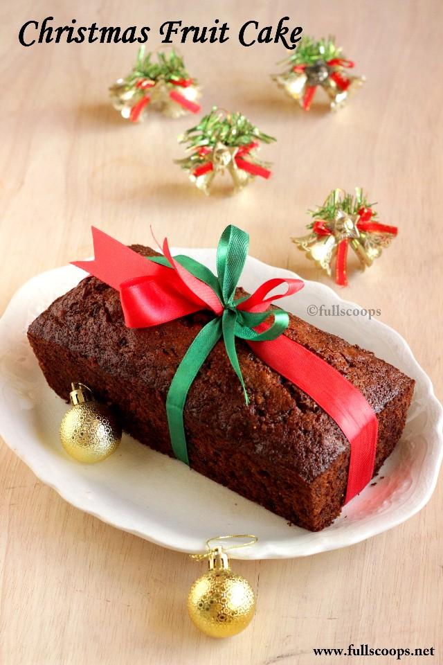 Boiled Christmas Cake
