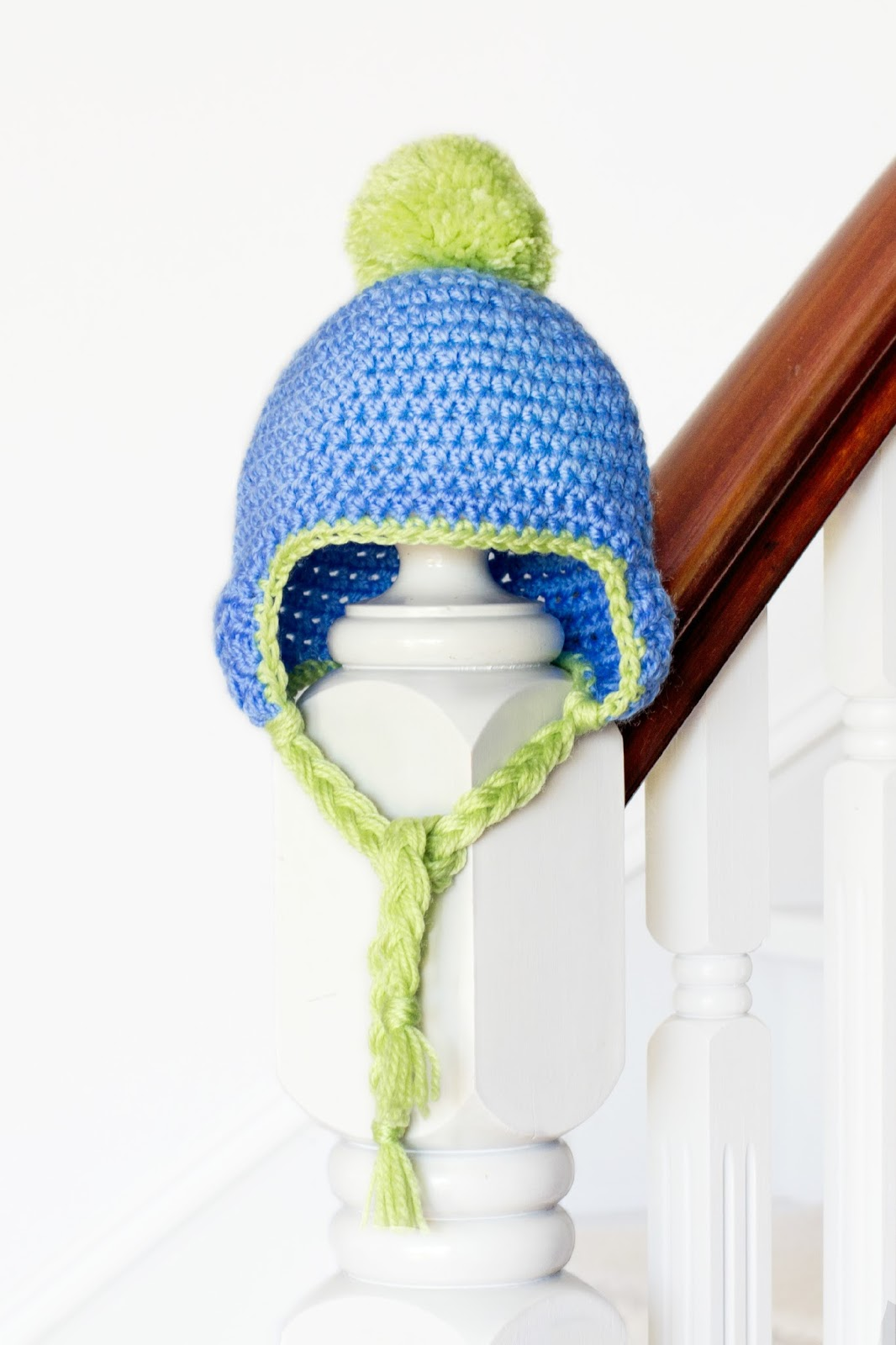 Crochet Baby Hat Pattern With Pom Pom : Hopeful Honey Craft, Crochet, Create: Baby Pom Pom Hat ...