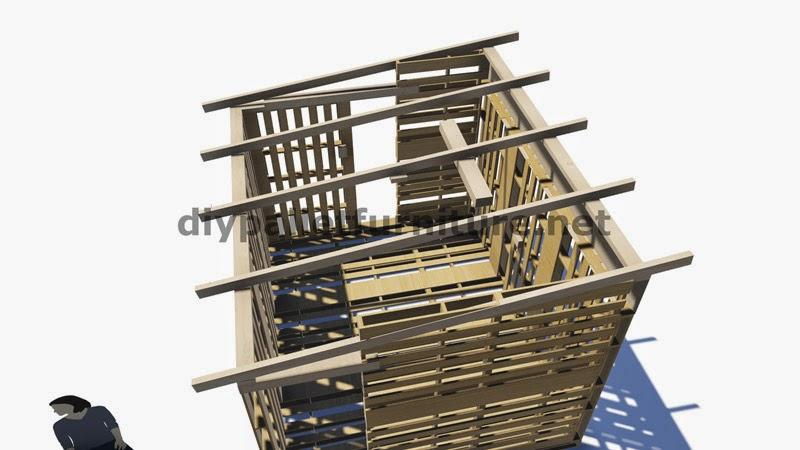 Planos 3d de como hacer un almac n o for Casa techo 1 agua