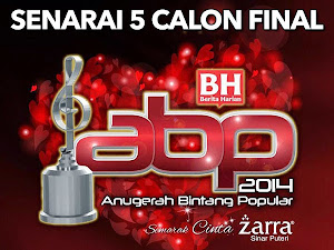 Thumbnail image for Senarai Lima Calon Final Setiap Kategori ABPBH 2014