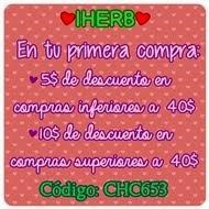 Descuento IHERB