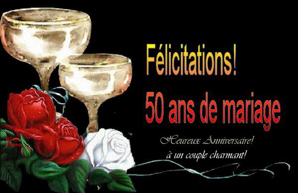 texte f licitations 50 ans mariage invitation mariage carte mariage texte mariage cadeau. Black Bedroom Furniture Sets. Home Design Ideas