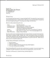 Surat Lamaran Kerja | Contoh Surat Lamaran Pekerjaan