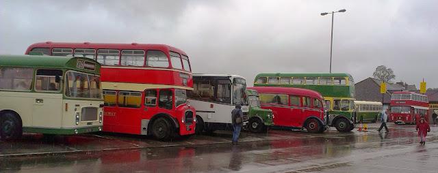 Warminster Bus Running Day