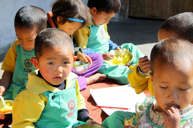 kids in tingvong pre school