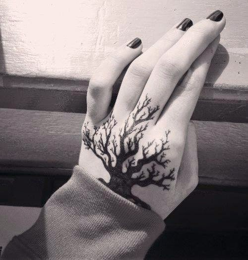 Latest Tattoos Designs on Hands.