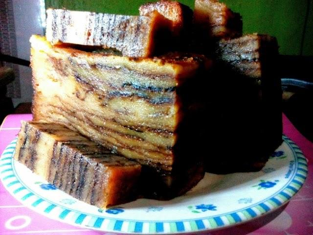 kue khas kota barabai kalsel, kueh lam