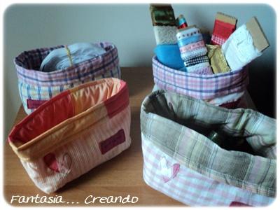 Fantasia creando craft room parte 2 - Porta sacchetti ...