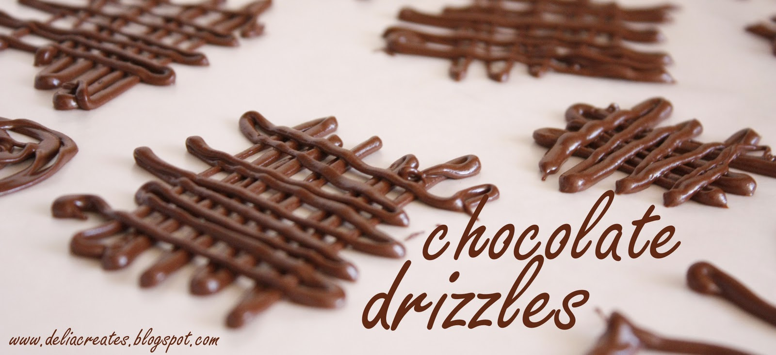 & Chocolate Drizzles