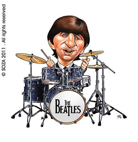 Caricatura Produzida Para A Turn   Brasileira Do Beatle Em 2011