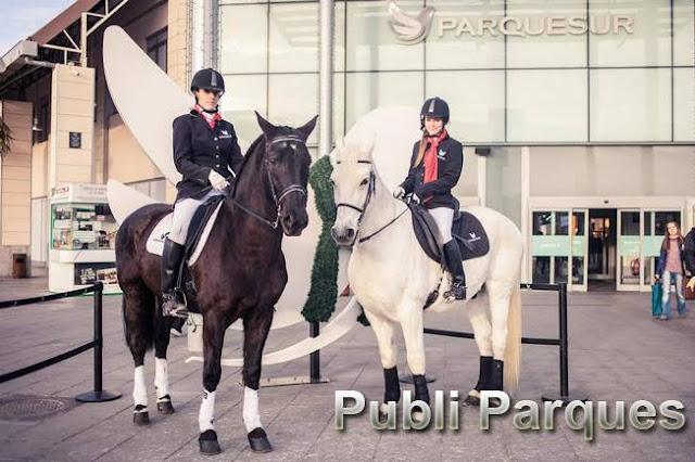 Parquesur, primer centro comercial de España con atención al cliente a caballo