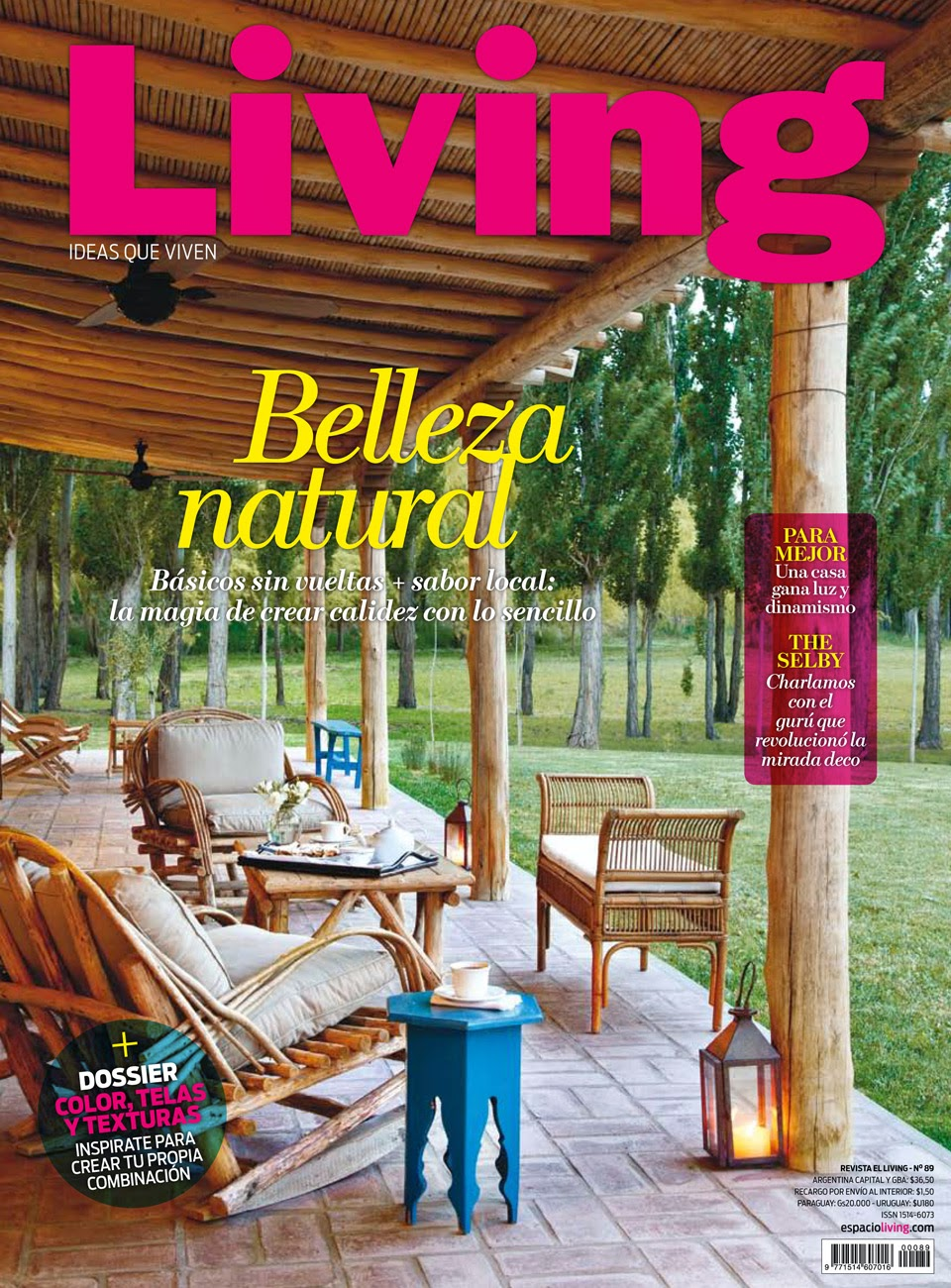 Living Decoracion Revista ~ Casa Feliz En revista LIVING
