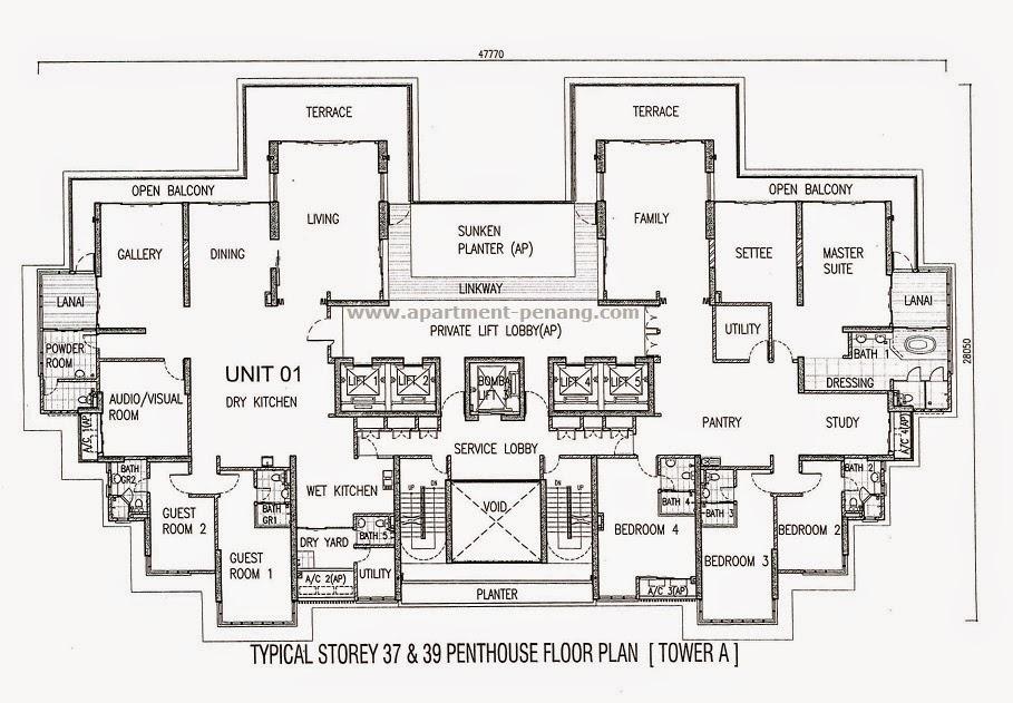 1 Tanjong Apartment Penang Com