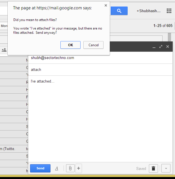 compose email on google plus