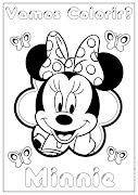 Minnie para dibujar pintar colorear e imprimir minnie para dibujar pintar colorear imprimir recortar pegar