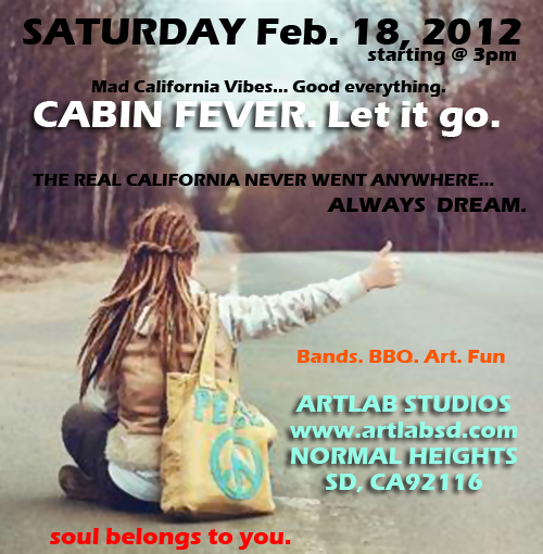 Art Lab Cabin Fever