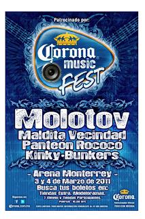 Corona Music Fest 2011 Monterrey