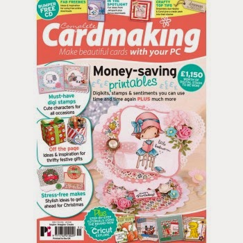 Thrilled to be a member of Complete Cardmaking Magazine DT