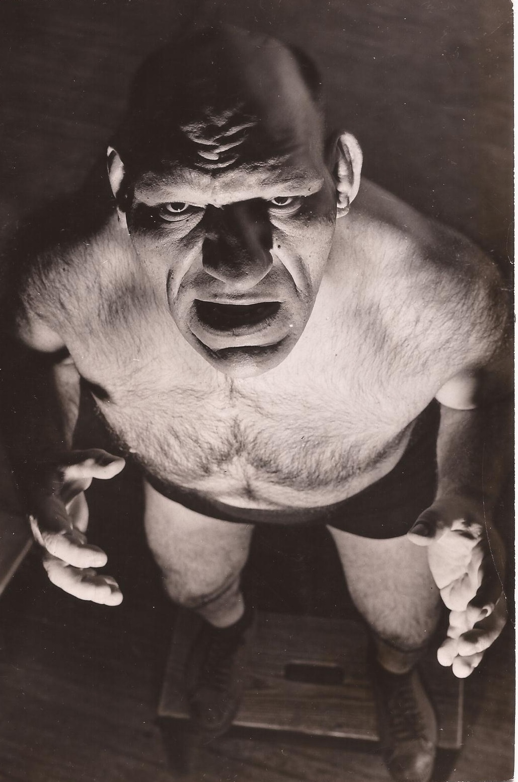 the french angel wrestler maurice tillet death masks