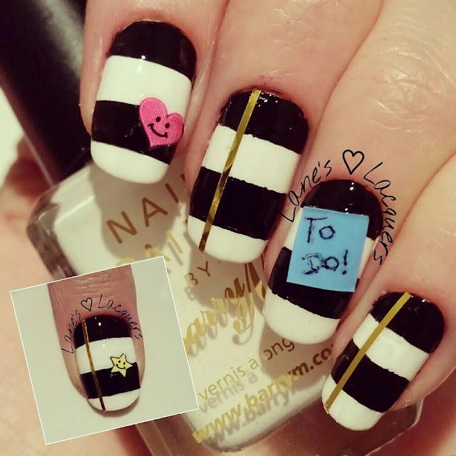 40-great-nail-art-ideas-geeks-day-designer-planner-striped-manicure (2)