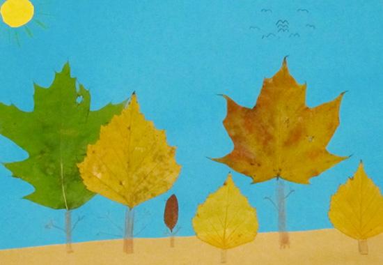 листья, осень, autumn