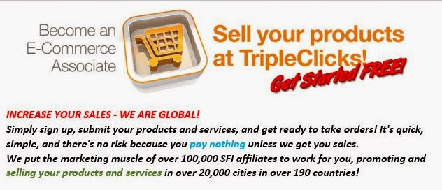 Sell your products and services online! Without paying anything!