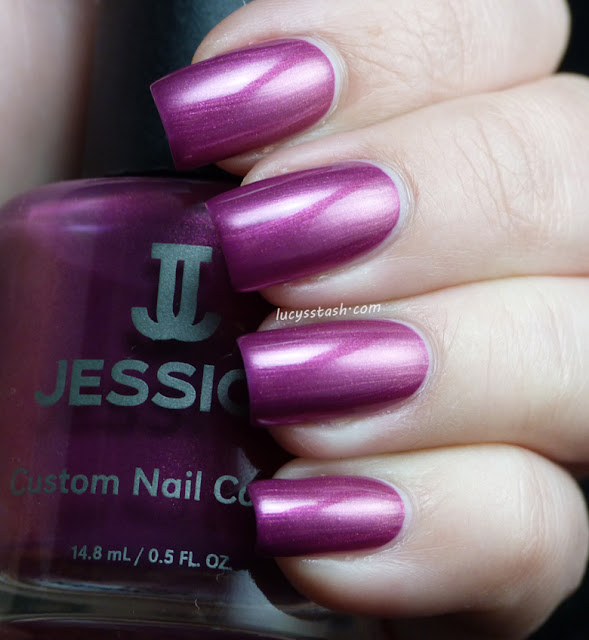 Jessica Foxy Roxy nail polish