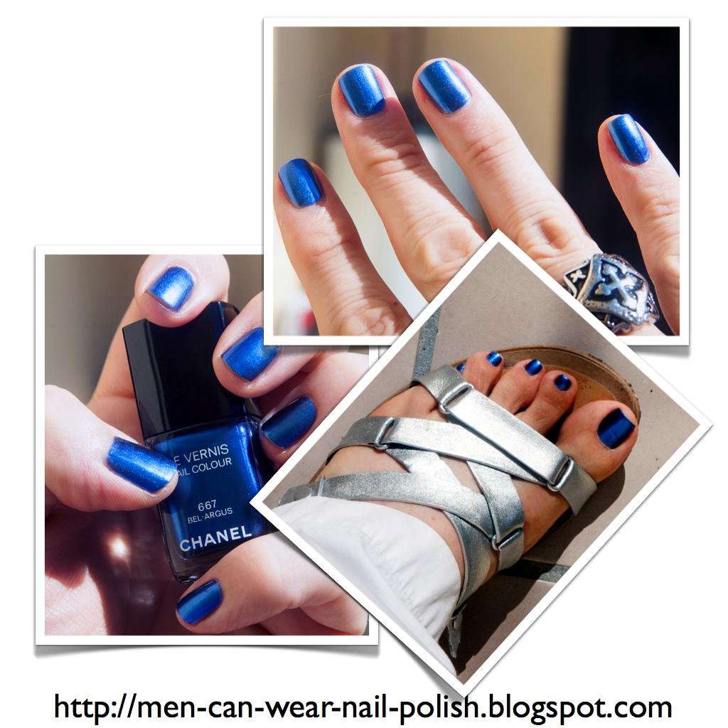 Men can wear nail polish: July 2013