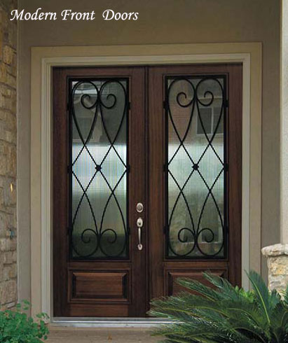 Front Door Modern on Wood Modern Front Doors That Are Hand Polished Or Just