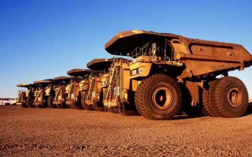 Tujuh truk trailer Freeport diberondong tembakan