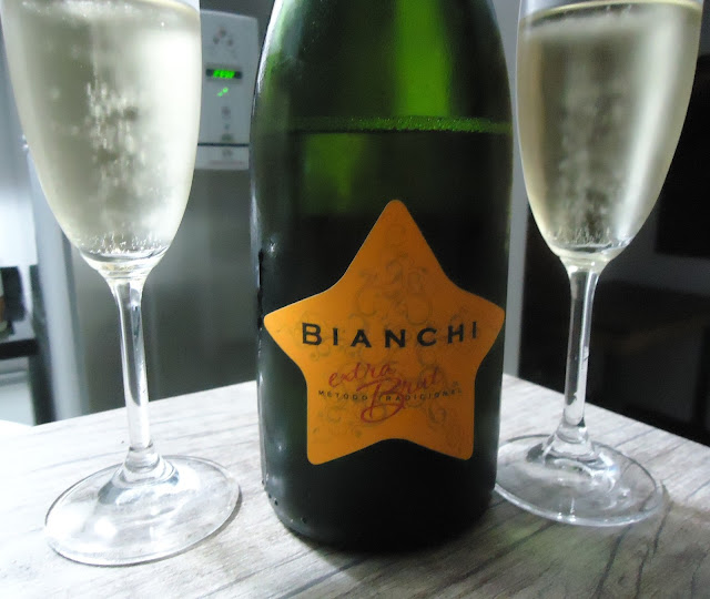 Espumante, extra brut, Bianchi
