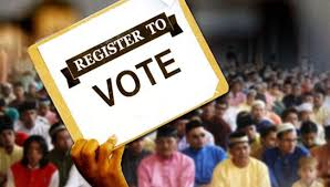REGISTER AS VOTERS