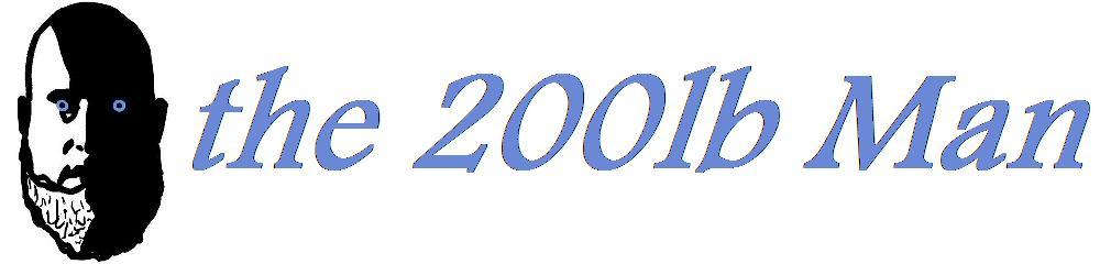 The 200lb Man