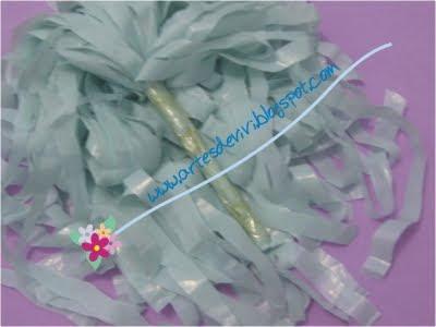 sacola plástica artesanato