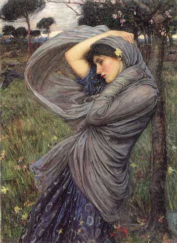 waterhouse boreas painting