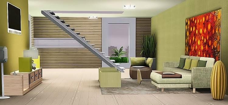My sims 3 blog seal livingroom set by nikadema for Sims 3 living room ideas