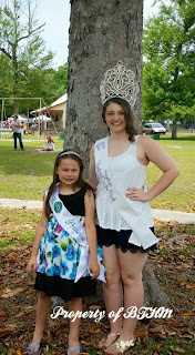 festival in park miss grace and festival queen