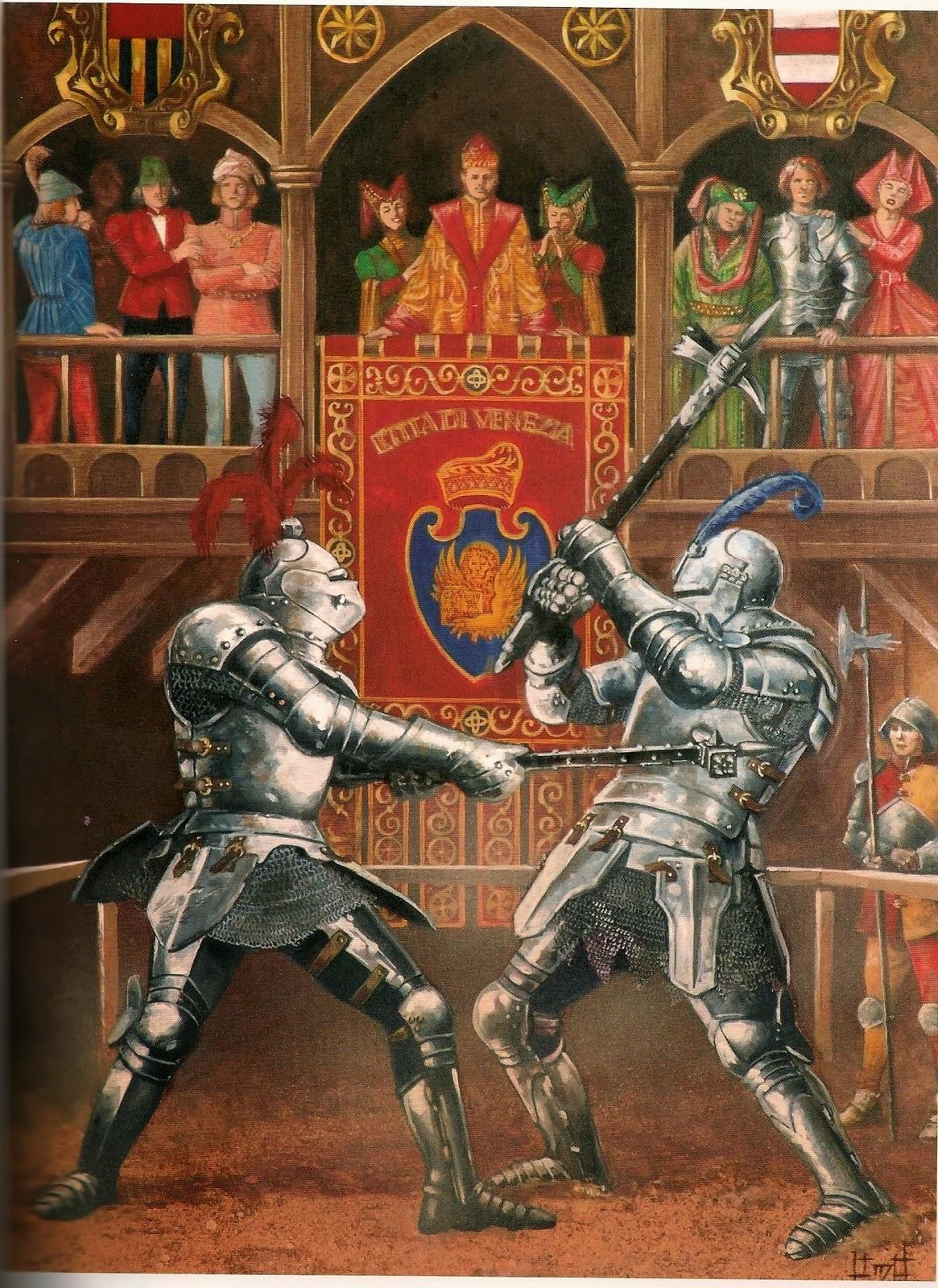 Luchas medievales.