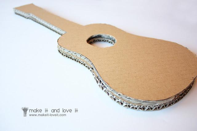 Гитара для кукол своими руками 406