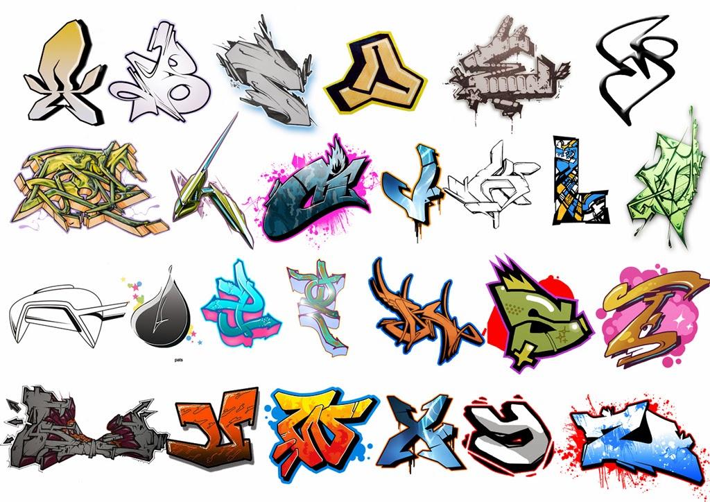 Graffiti creator styles 3d graffiti aetters a z - Graffiti abc letters ...