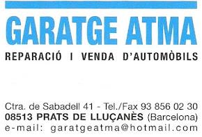 Garatge Atma