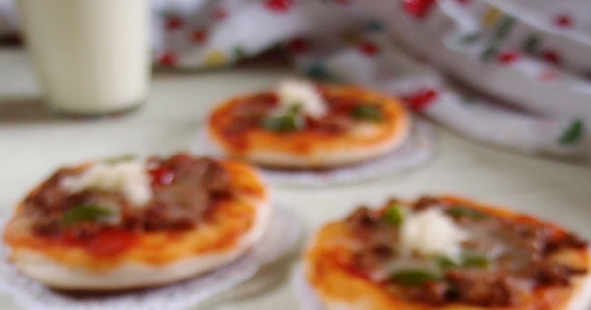 CARA MEMBUAT RESEP PIZZA MINI SEDERHANA TANPA OVEN (Happy ...