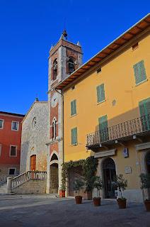 Chiesa di San Francesco in San Quirico d'Orcia, Italy