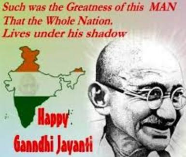 Happy Gandhi Jaynti