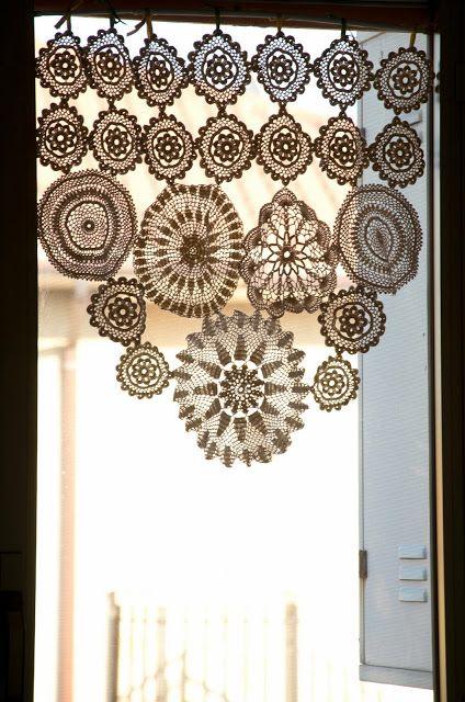 Mar a cielo cortinas y bandos crochet - Bandos para cortinas ...